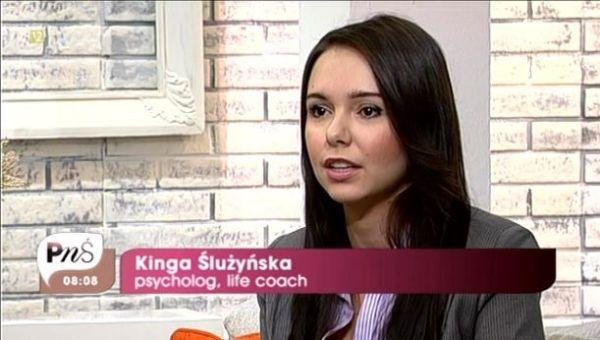 Kinga Ślużyńska - psycholog, life coach, Pytanie na Śniadanie