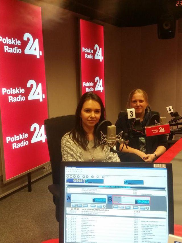 Kinga Ślużyńska i Beata Poborska Kobrzyńska Polskie Radio 24