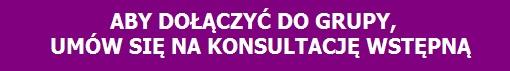 Umów się na konsultację z psychoterapeutą prowadzącym grupę terapeutyczną Warszawa